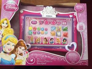 Disney princess touchpad scanning £5 @ tesco