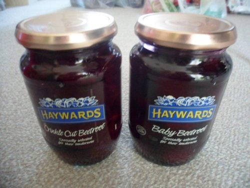 Haywards Baby Beetroot And Crinkle Cut Beetroot In Vinegar - 49p @ Morrisons 710g Jar.