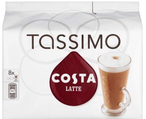 Tassimo Costa Latte bulk pack of 5 x 8 just £14.99 at Costco