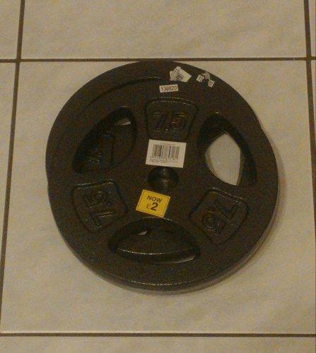 7,5 KG Cast Iron Weight Plate £2.00 @ Tesco