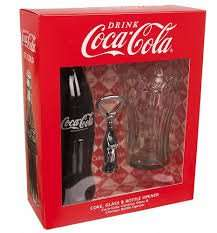 Coca Cola Bottle & Glass Gift Set £2 @ Tesco