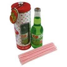 Jelly Belly Apple Soda, Straw Tin & Straws Set £1.75 @ Tesco