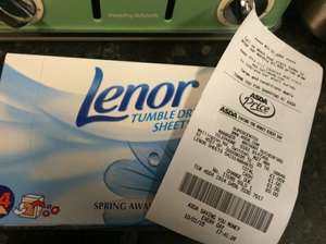 Lenor tumble dryer sheets £1.00 @ Asda instore