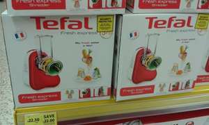 Tefal Fresh Express Food processor/Shredder MB753540- In store deal-Tesco £22.50