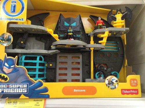 Fisher-Price Imaginext Batman Batcave £10 @ Tesco