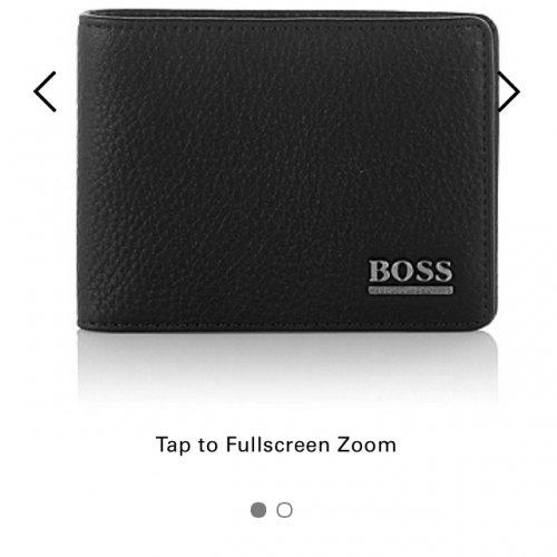 Hugo boss mens wallet £59 was £95
