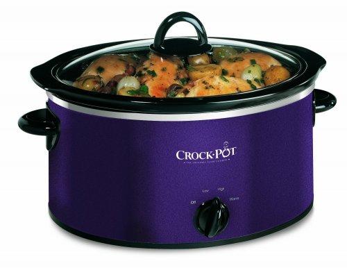 Crock-Pot Slow Cooker - Aubergine, 3.5 Litre £19.99 @ Amazon