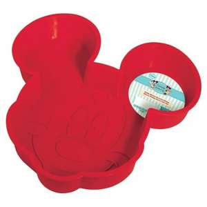 Mickey Mouse Large Silicone Cake Mould £2 @ Tesco Instore