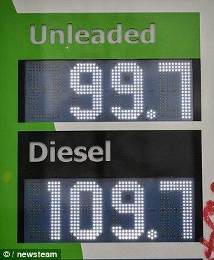 Petrol 99.7 diesel 109.7 @ Harvest  Energy