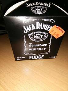 Jack Daniels Fudge 250g (cardboard packaging) £1.50 at Heatons (NI only)