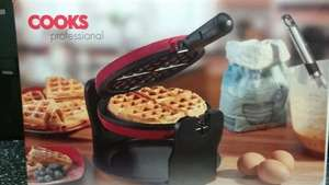cooks professional luxury waffle maker £24.99 @ Clifford James