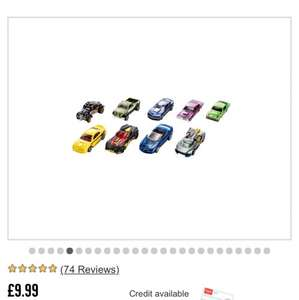 Hot Wheels cars £15 for 18 cars = ONLY £0.83 per car @ ARGOS