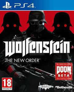 Wolfenstein: The New Order PS4 (SOLD OUT) /XO £15.99 (Using Code) @ Rakuten/The Game Collection