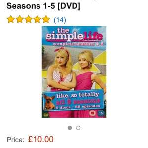 The Simple Life All Seasons 1 - 5 £10 @ Amazon