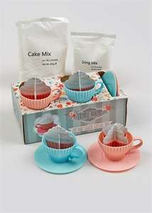 Lilybell Bakery cup and saucer cup cake set @ matalan £2.50 reduced from £10 free c+c