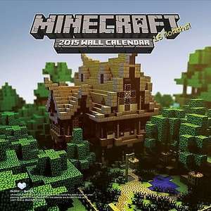 Official Minecraft 2015 calendar @ the Works half price instore for