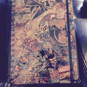 Marvel A5 Note Book Was £3.50 Now Only 50p Instore @ Sainsbury's (Basildon)
