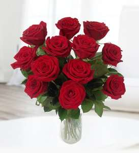 12 Grand Prix Roses + Chocs £25.49 - Potential Valentines Delivery @ Prestige Flowers