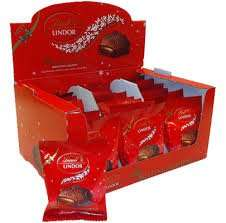 Lindor My Melting Moment 20g x 33 just £5 +  £3.95 P&P (15.5p each) at the Lindt shop - Free delivery over £40