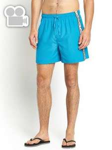 Calvin Klein Mens Surf Shorts - Blue £12 @ Very free C&C