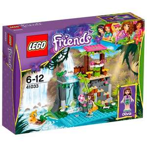 Lego Friends Jungle Falls Rescue £15.04 - Free Click and Collect Waitrose/John Lewis/Tesco