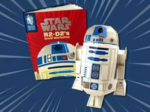 Star Wars R2-D2's Droid Workshop: Make Your Own R2-D2 £5.99 + £2.75 delivery or free if you have Prime or buy something else for £4.01 to qualify for free delivery as that takes it over £10 @ amazon