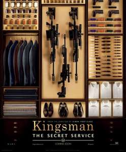 Show Film First - Free Tickets to see 'Kingsman The Secret Service' on 19/1 @ 6.30pm