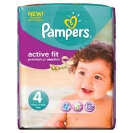 Pampers  active  fit  size  4 Monthly  pack  168 nappies £20 @ Tesco Direct