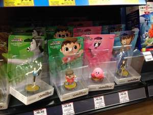 Heads Up - Rarer Amiibo In Stock Instore Tesco (WFT / Villager / Marth) - £10.50