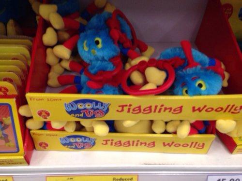 Wooly&Tig vibrating keyring £1 @ tesco instore