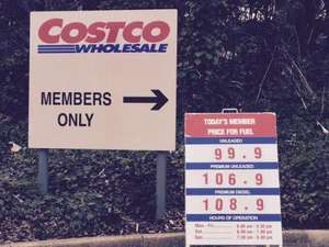 Costco Fuel Liverpool, Petrol 99.9p a litre of petrol