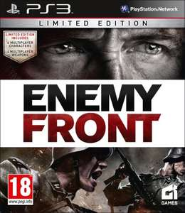 Enemy Front: Limited Edition PS3 @ Amazon £7.68 + £2.03 P&P or add an item for £2.32 + to qualify for free delivery or free for Prime users @ Amazon