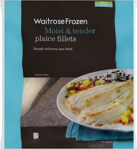 Icelandic Plaice Fillets (FROZEN) (425g) was £3.99 now £1.99 @ Waitrose