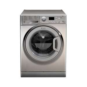 Hotpoint Aquarius WDPG8640X  WDPG8640X 1400rpm 8kg Wash & 6kg Dryload Washer Dryer in Stainless Steel (10 year Parts Warranty) £469.00 @ HUGHES