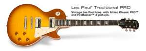 Epiphone Ltd. Ed. 2014 Les Paul Traditional PRO (Honeyburst Satin) inc free UK delivery £275 @ DV247