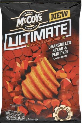 McCoy's Ridge Cut Ultimate Crisps (150g) was £1.98 now £1.00 @ Asda