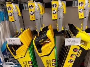 Stanley Hacksaw, Woodsaw a & Knife £3.99 each @ Home Bargains