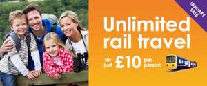 Unlimited one day rail travel for just £10 per person @ Northern Rail simply collect 2 tokens from your local Johnston Press newspaper