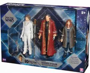 Doctor Who Action Figure Set 3pk Series 4,5,6 £7.99 each @ B&M