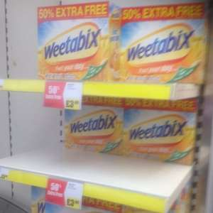 72 Pack Weetabix at Iceland £3.99