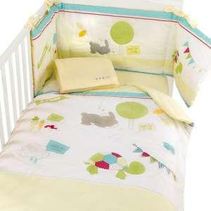 Nursery Curtains & Tie Backs for £2.96 a pair! Alternatively kit out your nursery with Cot Bedding, Curtains, Changing Mat, Light Shade, Border Roll, Canvas Pictures (Hip Hip Hooray Range) for £29.26 (Click & Collect) @ Babies R Us