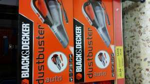 Black & Decker ADV1210 Car Vacuum Cleaner was £29 now £13.50 instore @ Tesco