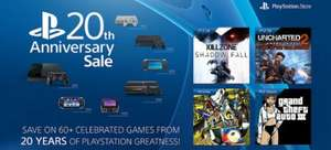 PLAYSTATION 20TH ANNIVERSARY SALE (EU & US)