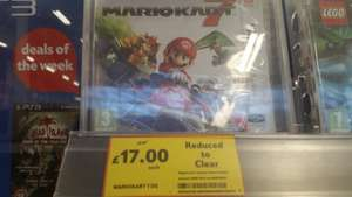 Mario Kart 7 3DS £17 @ Tesco Instore
