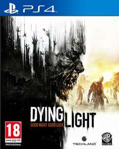 Dying light ps4  £34.95 delivered at rakuten using code (Sold by ShopTo)