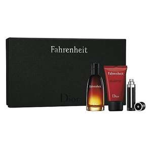 Dior Fahrenheit 50ml Gift Set £26.50 @ Boots In Store Only