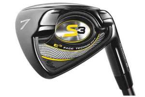 Cobra S3 gold irons 5-SW £161.10 @ OnlineGolf
