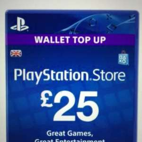 £25 PSN PlayStation Network Card / Voucher £17 @ shopto / rakuten
