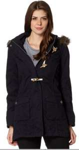 Mantaray Navy Parka @ Debenhams - Was £85 NOW £22.95!