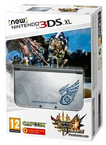 (Pre-Order) New Nintendo 3DS XL Monster Hunter 4 Ultimate Special Edition Console £209.99 @ GAME